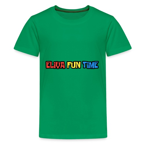 Eliya Fun Time Label - Kids' Premium T-Shirt