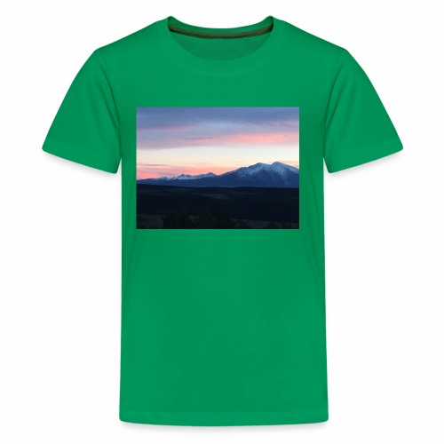 Her Majesty Mt Sopris - Kids' Premium T-Shirt