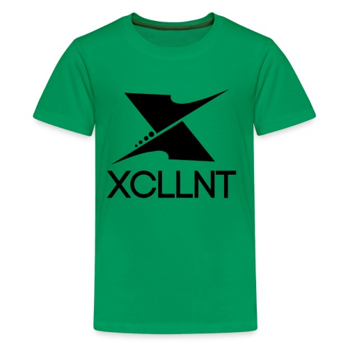 Xcllnt Logo Black - Kids' Premium T-Shirt