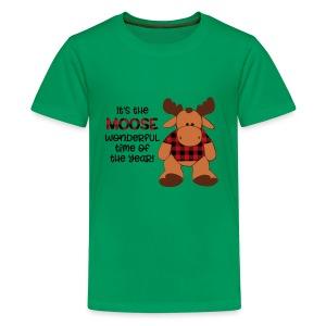 moose wonderful time of the year - Kids' Premium T-Shirt