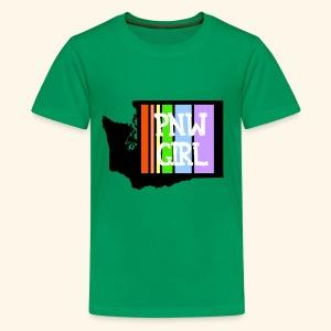 pnw rainbow - Kids' Premium T-Shirt