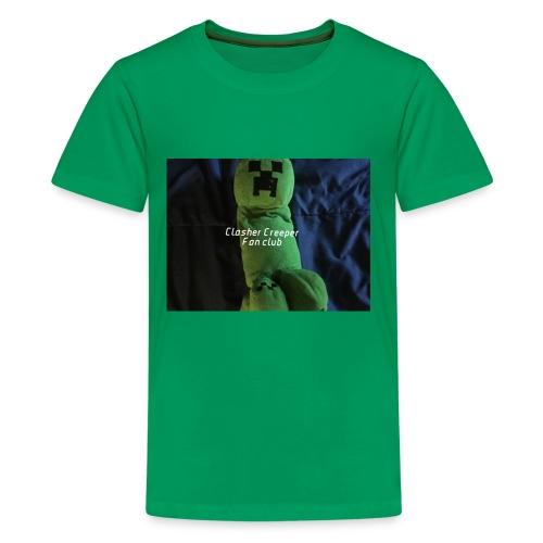 Clasher Creeper Fan Club - Kids' Premium T-Shirt