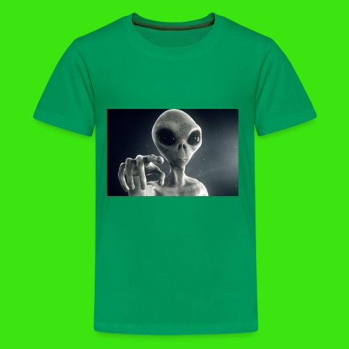 Show me De wey to De UFO - Kids' Premium T-Shirt
