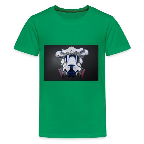 The Gasmask jorden - Kids' Premium T-Shirt