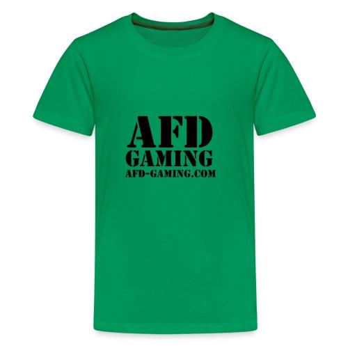 AFD GAMING Stencil Blk - Kids' Premium T-Shirt