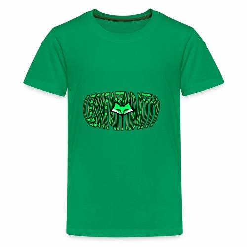 LFM Letter with FOX - Kids' Premium T-Shirt