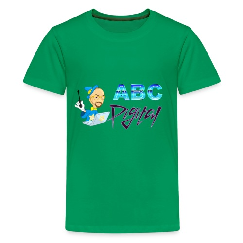 Wizard and Logo - Kids' Premium T-Shirt