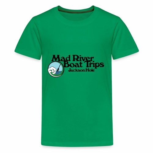Mad River Boat Trips Logo Wear - Kids' Premium T-Shirt
