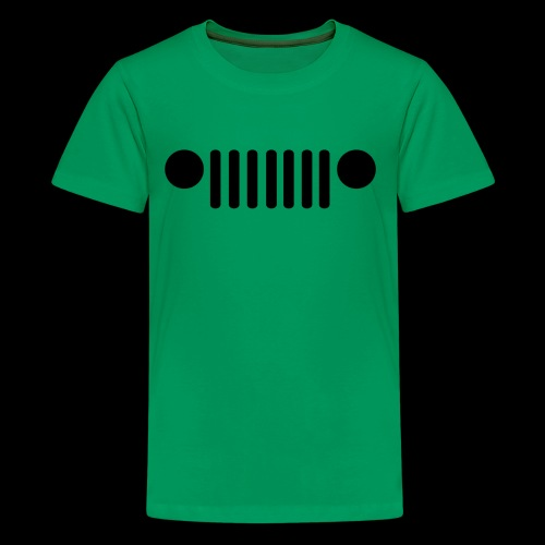 Jeep Grille - Kids' Premium T-Shirt
