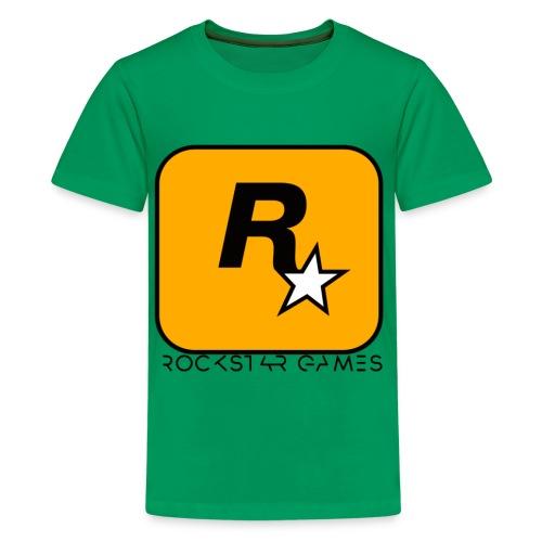 Custom Rockstar Logo - Kids' Premium T-Shirt