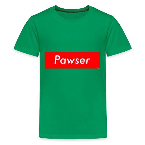 Pawser Logo SUPREME Style - Kids' Premium T-Shirt