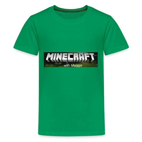 MinecraftWithMaggie - Kids' Premium T-Shirt