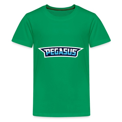 Mr Pegasus Text - Kids' Premium T-Shirt
