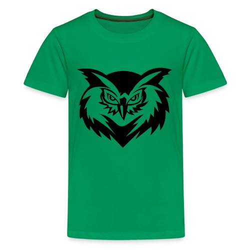 Morose Owl of Wisdom - Kids' Premium T-Shirt