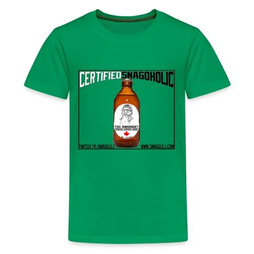 Certified Snagoholic - Kids' Premium T-Shirt