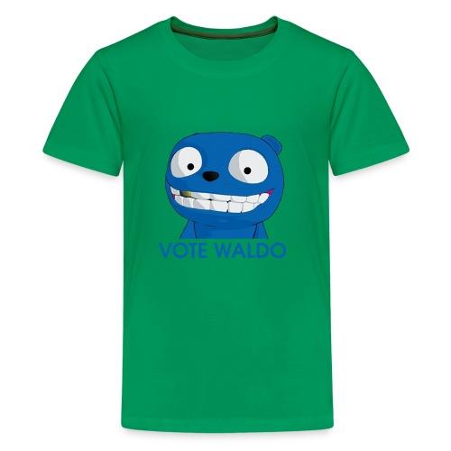 Vote Waldo - Kids' Premium T-Shirt