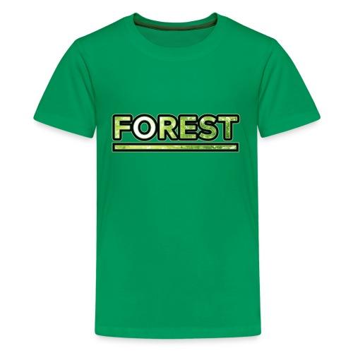 Forest - Double Exposure - Effect - Kids' Premium T-Shirt