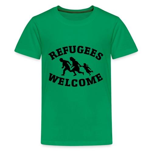 refugees welcome - Kids' Premium T-Shirt