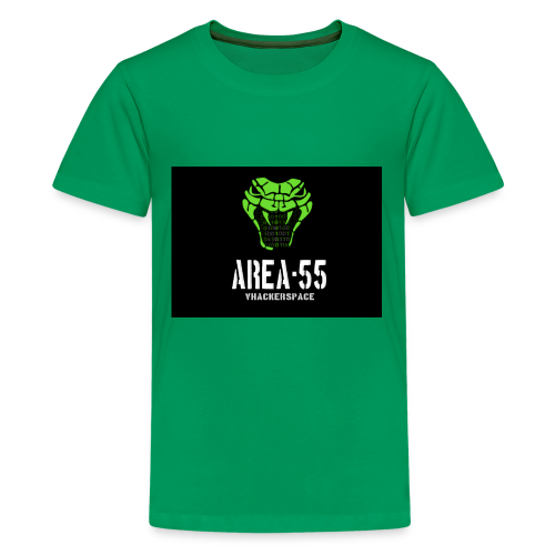 final_Area55_vertical1 - Kids' Premium T-Shirt