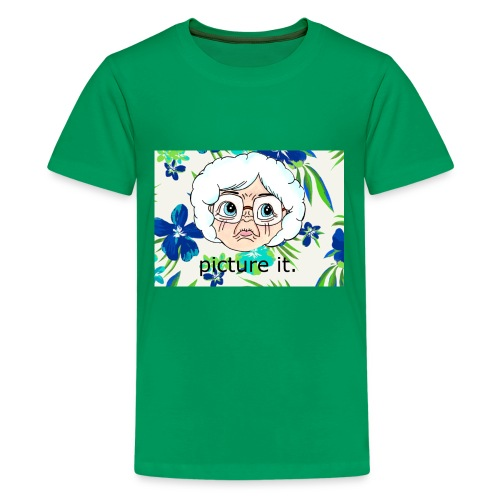 picture it ... - Kids' Premium T-Shirt