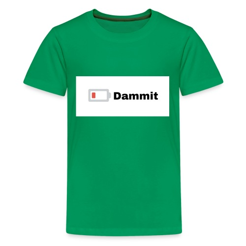 Low Battery Phone Case - Kids' Premium T-Shirt