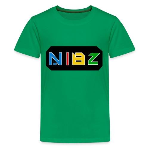 NibZcolorfuldesignlogo - Kids' Premium T-Shirt