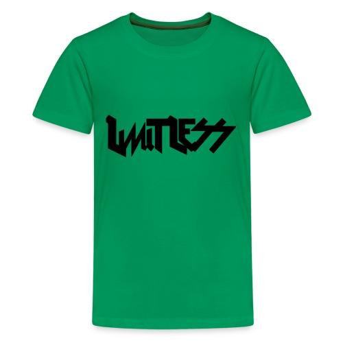 limitlesslogo tour inspired - Kids' Premium T-Shirt