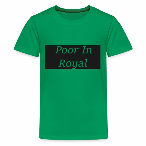 Poor In Royal Shirts - Kids' Premium T-Shirt