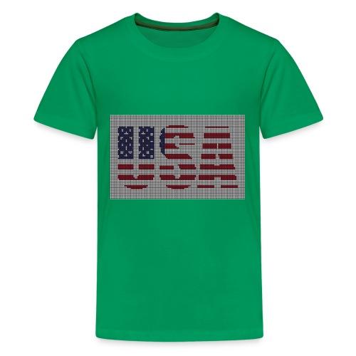 USA - Kids' Premium T-Shirt