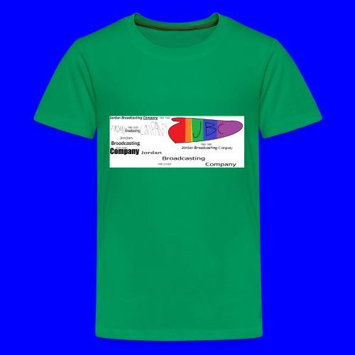 JBC logo history - Kids' Premium T-Shirt