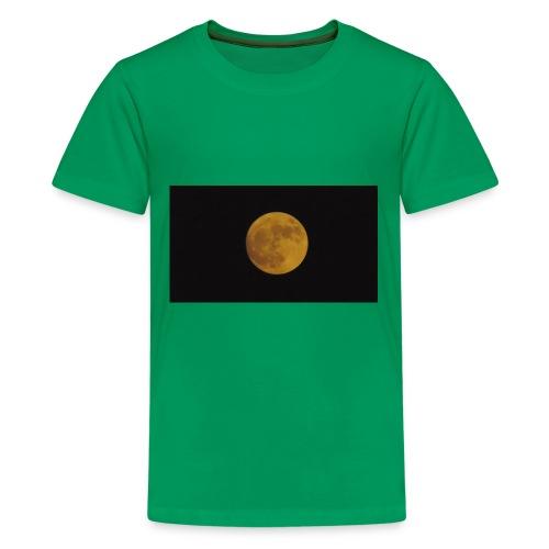 Moon Shining - Kids' Premium T-Shirt