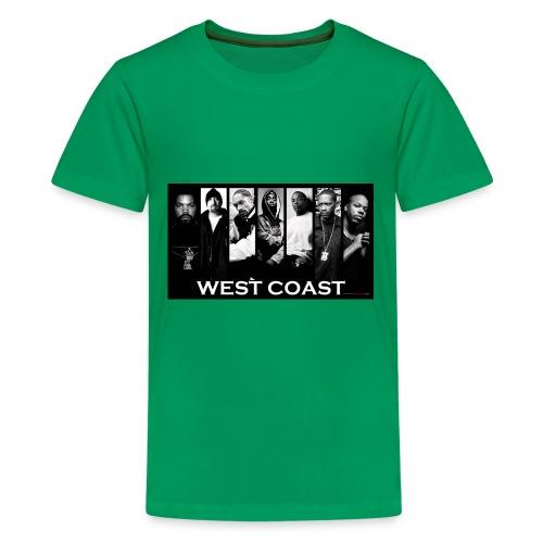 West Coast Rappers Design - Kids' Premium T-Shirt