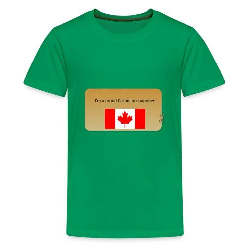 Canadian Couponer - Kids' Premium T-Shirt