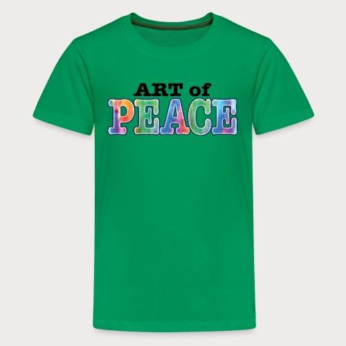AOP Logo Final - Kids' Premium T-Shirt