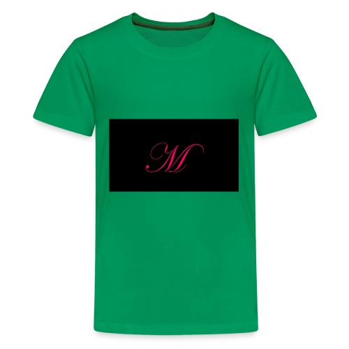 EDWARDIAN M MONOGRAM - Kids' Premium T-Shirt
