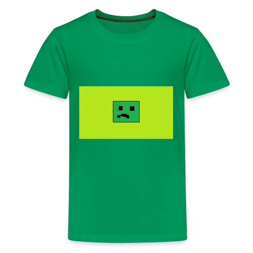 Creeper Head YT fan merch - Kids' Premium T-Shirt