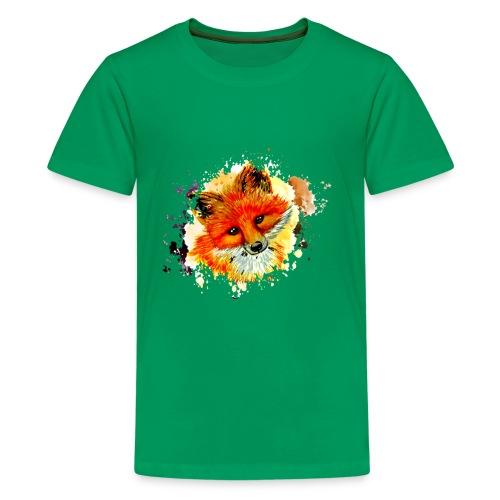 fox face - Kids' Premium T-Shirt