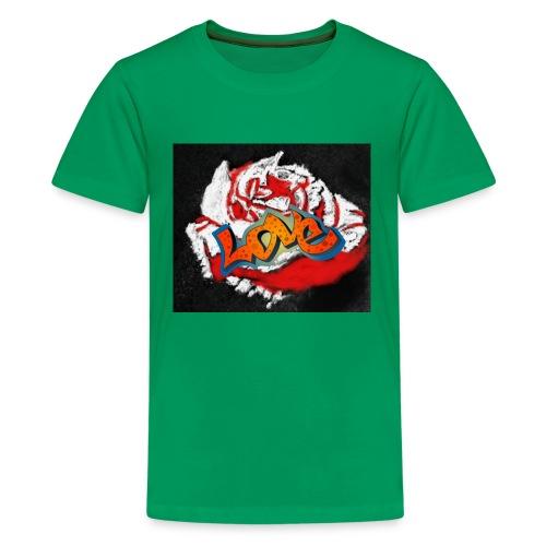Rose. Love - Kids' Premium T-Shirt