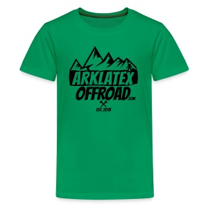 ArkLaTex Round Black - Kids' Premium T-Shirt