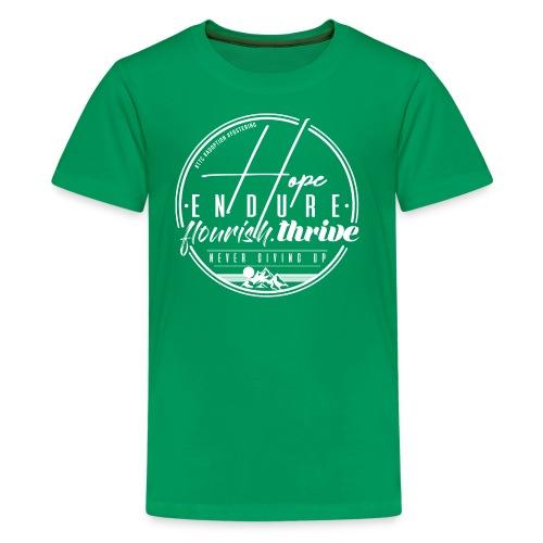 Hope Endure - Kids' Premium T-Shirt