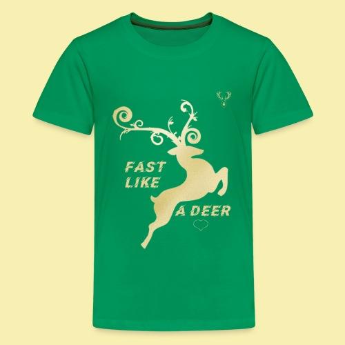 A DEER T-SHIRT - Kids' Premium T-Shirt