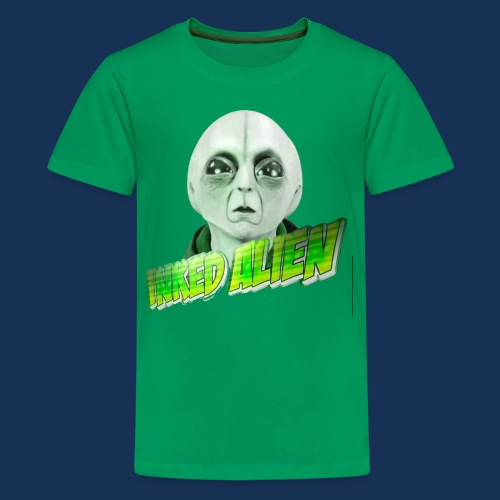 Inked Alien Logo #2 - Kids' Premium T-Shirt
