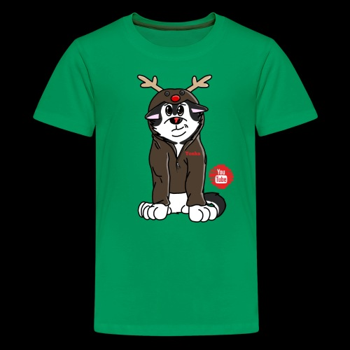 TonkaReindeerYouTube - Kids' Premium T-Shirt