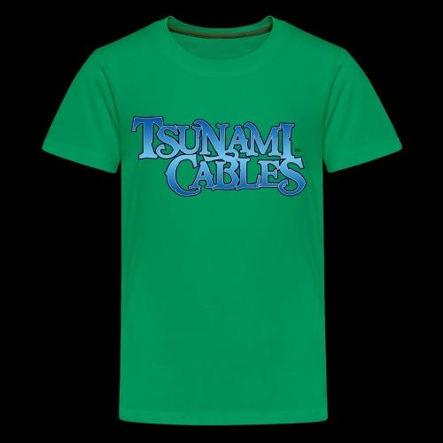 Tsunami Cables - Kids' Premium T-Shirt