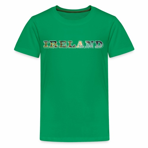 Ireland Scenic Irish Coast Travel - Best Seller - Kids' Premium T-Shirt