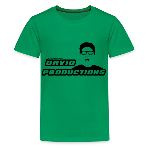 David Productions (CHANGEABLE COLOR LOGO) - Kids' Premium T-Shirt