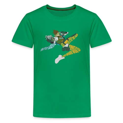 The World Needs More Heroes - Kids' Premium T-Shirt