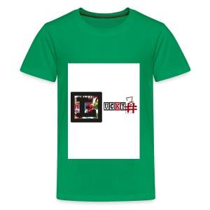 Lucky7 logo - Kids' Premium T-Shirt