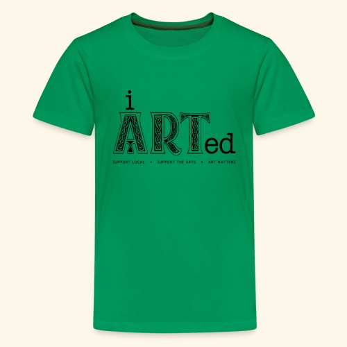 i arted (Irish theme) - Kids' Premium T-Shirt