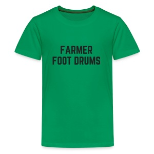 Farmer Foot Drums All Caps - Kids' Premium T-Shirt